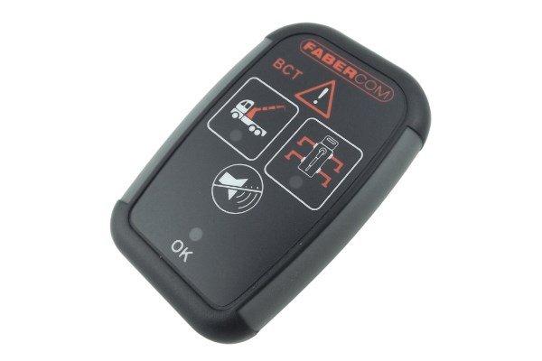 dispositivi elettronici di segnalazione BCT per piattaforme aeree e gru su camion