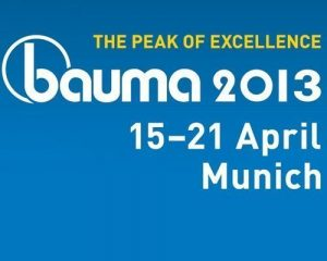 Foire Bauma 2013 en Allemagne: Faber-Com