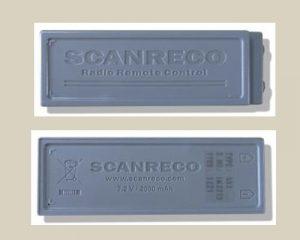 Nuova batteria ricaricabile Scanreco 592 - Scanreco rechargeable batteries type 592