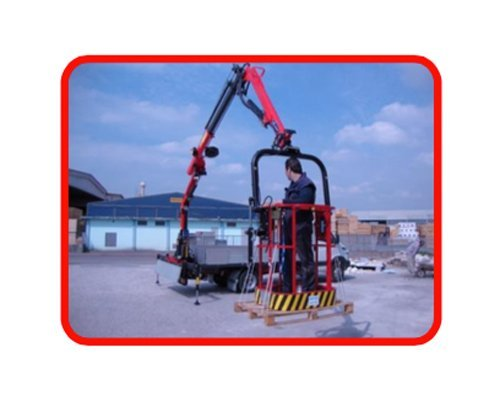 Horizontal Position Control card for cranes with gravity basket