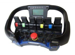Adesivi colorati sui radiocomandi Scanreco RC400 - Colored Stickers for Scanreco RC400