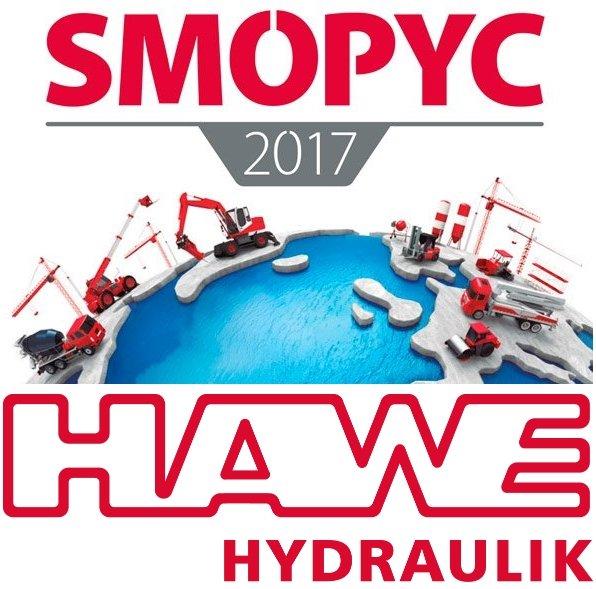 Hawe Hidraulica at SMOPYC fair - Hawe Hidraulica alla Fiera SMOPYC