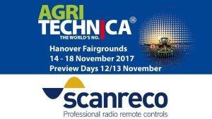 Scanreco esporrà presso Agritechnica 2017 - Scanreco will exhibit at Agritechnica 2017
