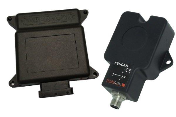 Produits Faber-Com: capteurs d'inclinaison
