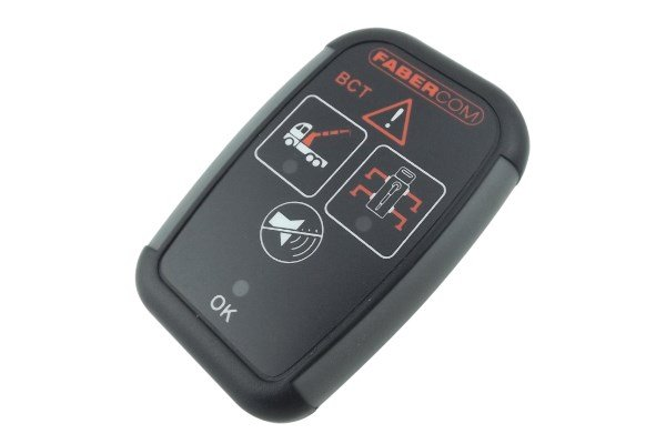 BCT warning electronic devices for cranes and aerial platforms