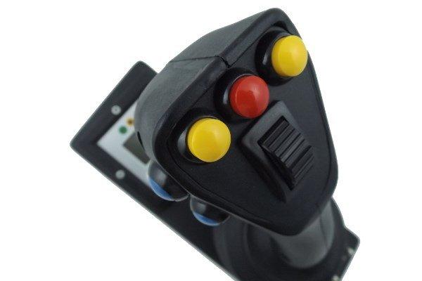 joystick su due o tre assi