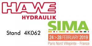 Hawe Hydraulik France esporrà presso SIMA 2019