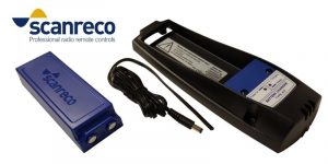 Type 437 battery charger for Scanreco type 593 batteries