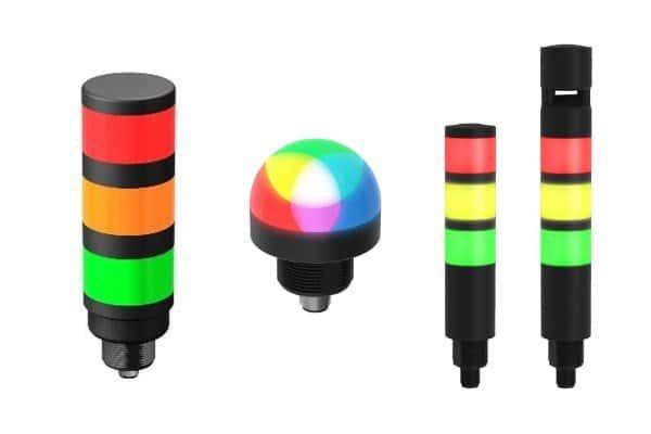 indicatori LED e torrette luminose - prodotti Faber-Com