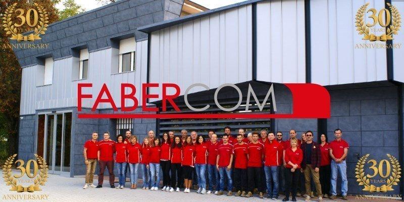 Faber-Com compie 30 anni: 1989 - 2019