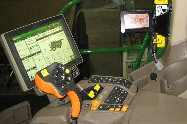 combine harvester automatic levelling system - Faber-Com