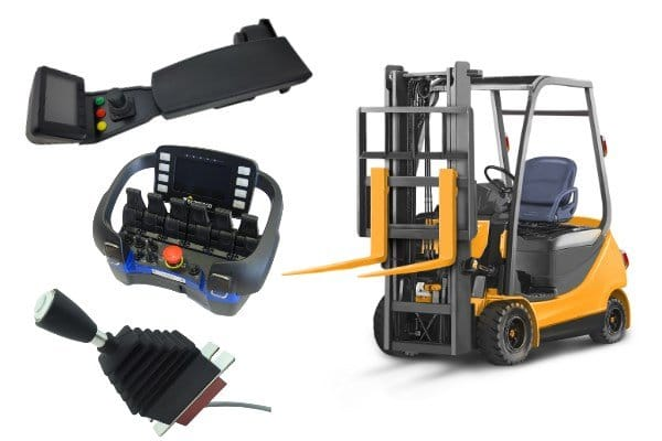 integrated control systems for forklift