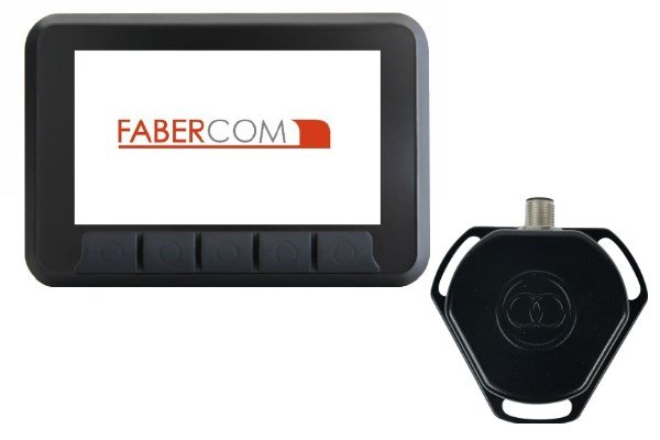 livellamento automatico per mietitrebbie - display e sensore d'angolo giroscopico