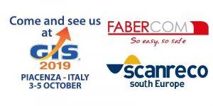 Faber-Com y Scanreco en la GIS 2019