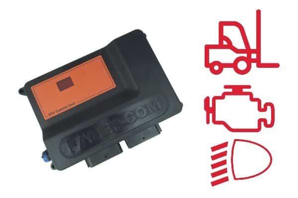 controllo per carrelli elevatori - funzioni
