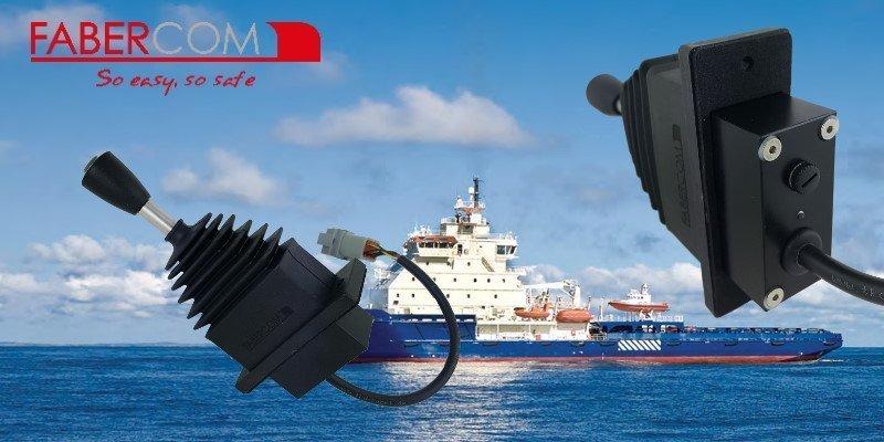 joysticks para uso marítimo sobre 1 eje