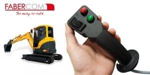 Empuñadura joystick PWM multifunción PCG Faber-Com