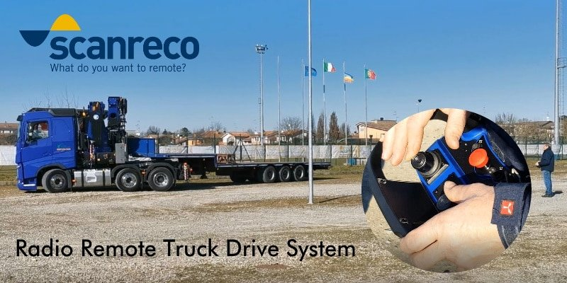 Radio remote truck driving system Faber-Com