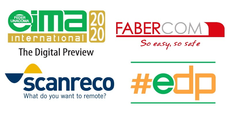 EIMA Digital Preview 2020 - meet FABER-COM and SCANRECO