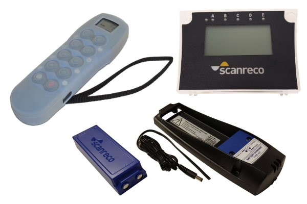 radio-cable remote controls - Scanreco spare parts